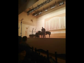 Гала-концерт Дни саксофона в Москве с Маргаритой Шапошниковой. Михаил Трошин. Форе, Элегия.