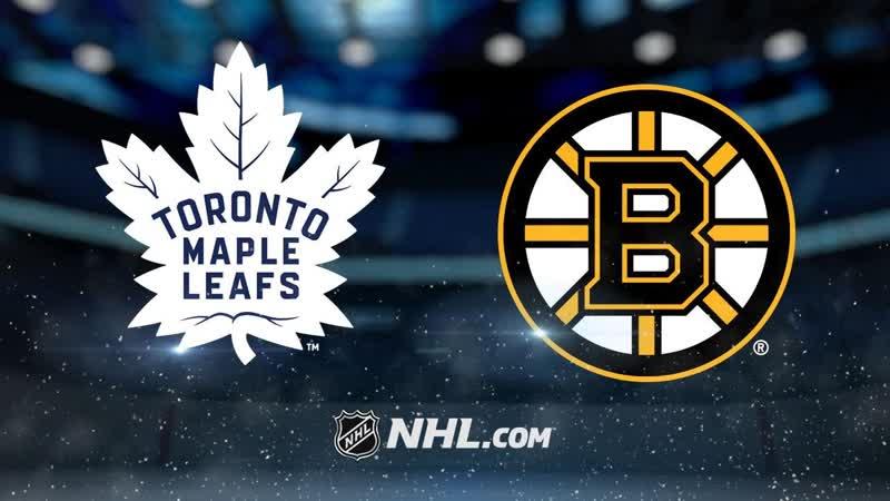 NHL 2018-19 / SC / EC / Round 1 / Game 5 / Toronto Maple Leafs - Boston Bruins / NBCSN