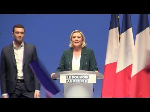 Discours de Marine Le Pen pour le lancement de la campagne pour les élections européennes 2019