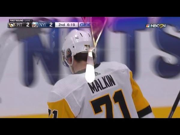 Evgeni Malkin 1st PO goal Малкин 1 ая шайба в плей офф
