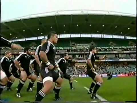 Боевые танцы островитян: New Zealand Maori V Tonga Haka
