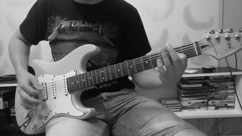 Metallica Fade To Black Guitar cover