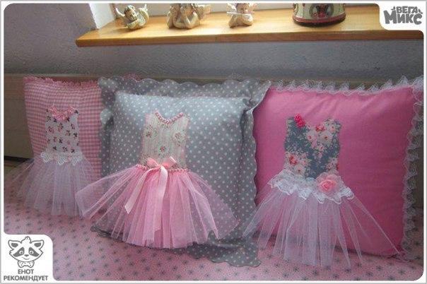 Идеи и выкройки декоративных подушек. (10 фото)