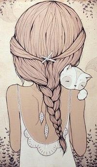картинки брюнетки девушки со спины на аву в контакт