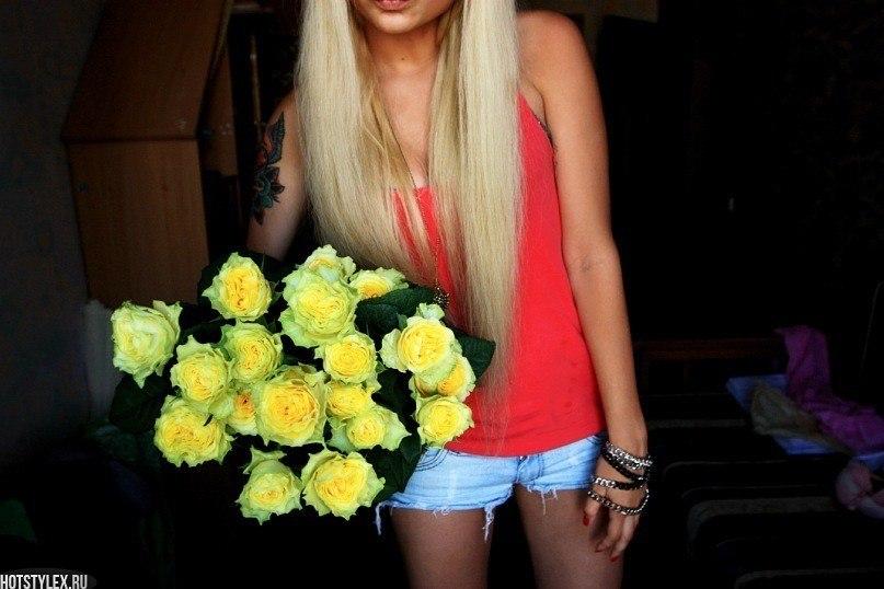 Красивые цветы для девушки