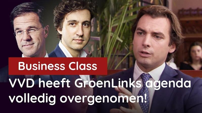 Baudet bij Business Class: VVD heeft de GroenLinks-klimaatagenda volledig overgenomen! - YouTube