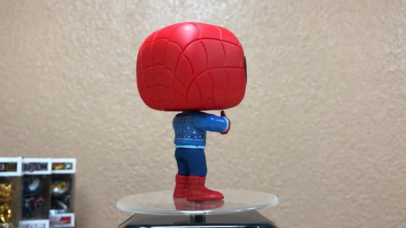 Funko Bobble Marvel Holiday Spider-Man w Ugly Sweater