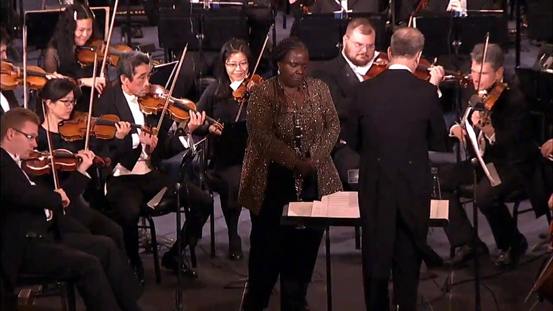 Doreen Ketchens Performance with Louisiana Philharmonic Orchestra