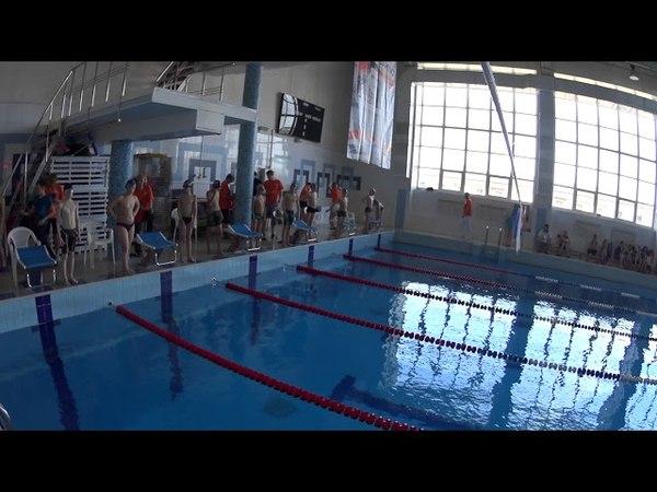 02062018 Турнир Лякишева гр 2007 Журавлев 2 дор Шишкин 3 дор 200 м вс