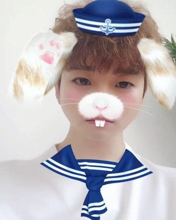 "@real_2pmstagram on Instagram: ""여태 본 토끼 중 제일 사람같네요🐰 잊토끼 세상귀여워서 귀염사"