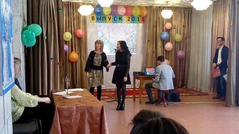Мадина Касымова-выпускница 2018