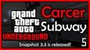 GTA Underground Carcer City Subway progress