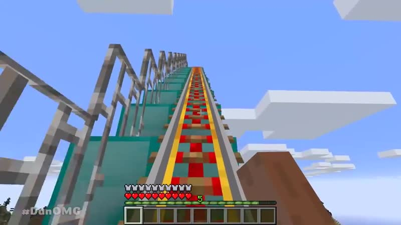 Minecraft NOOB vs PRO vs HACKER ROLLER COASTER CHALLENGE in minecraft Animation