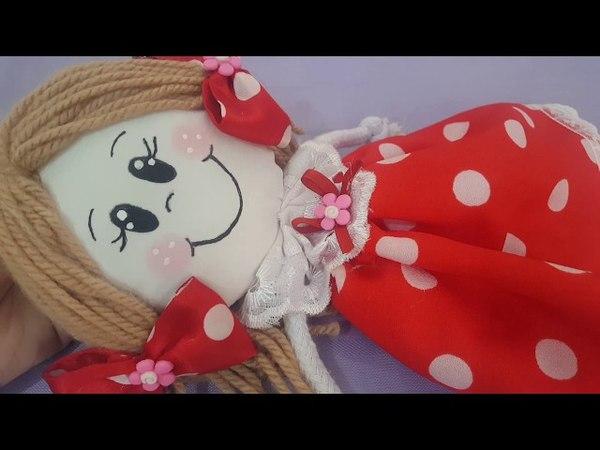 Como fazer Boneca de pano, para decoração feita com barbante *Atesanato* com Cris Pinheiro