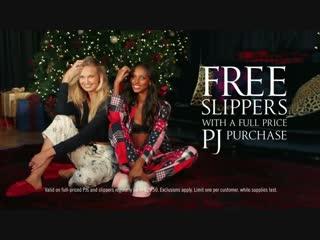 Victorias Secret Pajamas Slippers Offer TV Commercial