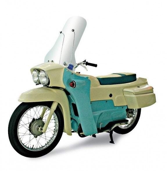 200-кубовый Velocette Vogue 1963 года – один из последних капотированных мотоциклов «мотороллерной» волны.