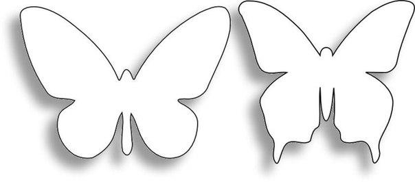 Трафарет для стен бабочки своими руками