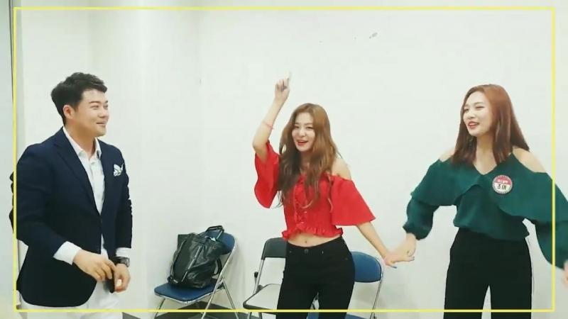 [RedVelvet PowerUp Dance Catch Up] Scene 10,11 - 아기상어춤 Baby_Fin_Dance 파도춤 Wavy_Dance 전현무 @