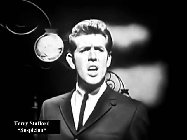 Terry Stafford - Suspicion - ( Alta Calidad ) HD