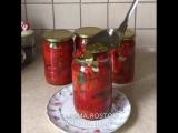 Болгарский перец маринованный (рецепт в описании)