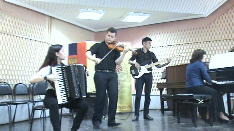 Ансамбль Тангомания- А.Пьяццолла Три танго