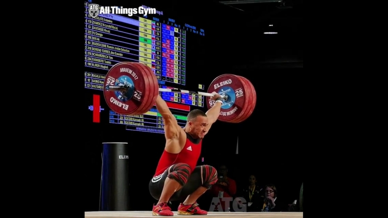 Weightlifting: Arley Mendez