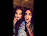 April 8 Selena in Vanessa Hudgens Snapchat story (1)