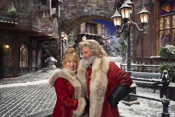 """Голди Хоун и Курт Рассел объявили о продолжении """"Рождественских хроник"""""""