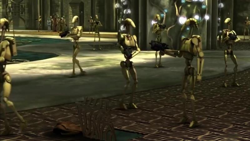 """""""Понял-понял"""" - боевые дроиды B1 (Звёздные войны)"""