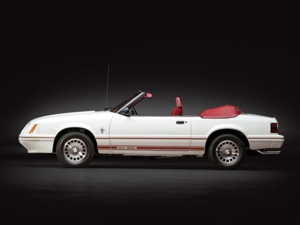 Ford Mustang Anniversary Edition. Кабриолет Ford Mustang GT350 Turbo Convertible стал одной из машин специальной серии выпущенных в 1984-м году в ознаменование 20-летия серийного производства