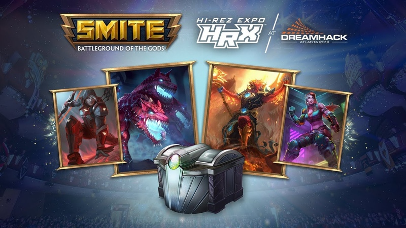 SMITE - HRX Digital Loot Pack - Available in Update 5.20!
