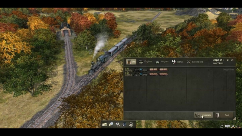 New feature ready for Mashinkys 4th era update! - Duplication of existing trains either st