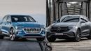Лучшие электрические кроссоверы Mercedes Benz EQC 400 4Matic 2020 vs Audi e tron 2020