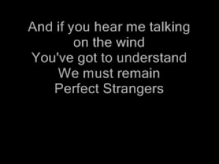 Deep Purple Perfect Strangers Lyrics