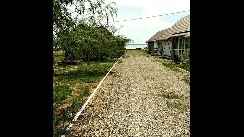 Территория базы Пристань Кочевника лето 2018