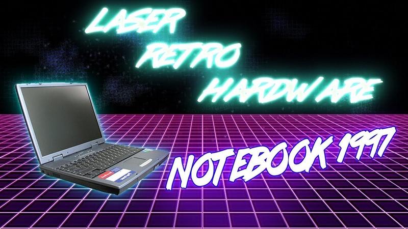 Ноутбук 1997 года - LASER RETRO [HARDWARE]
