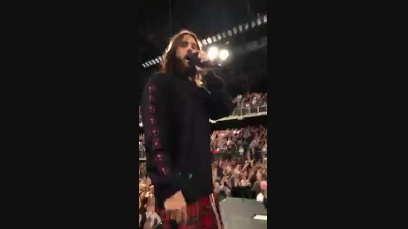 30 Seconds To Mars Live em Antwerp Bélgica 21 03 2018