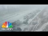 Iowa Snowstorm Causes Massive Pileup NBC News