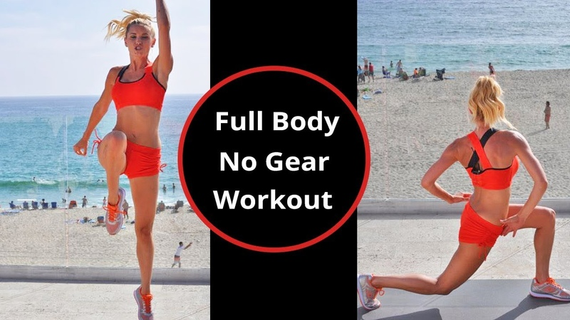 Full Body Workout No Equipment No Weights Fat Burning Workout