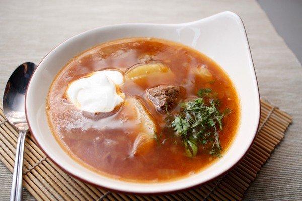 Рецепты приготовления супов из говядины