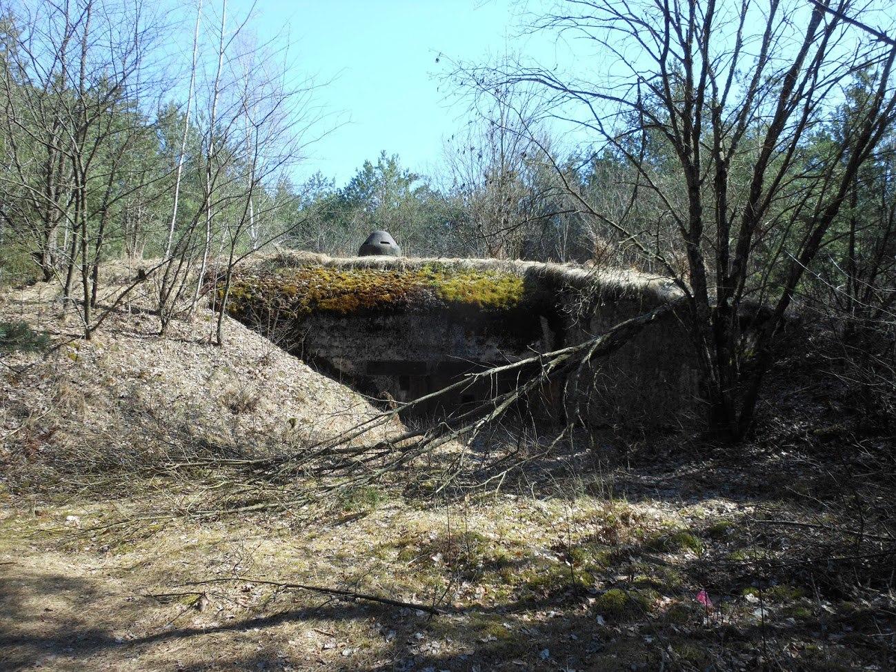 Немецкий бункер на границе Пруссии