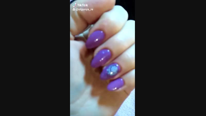 Наращивание Shellac Nails by Olgunya_Re