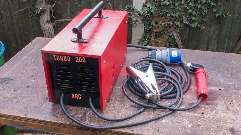 Homemade 200 Amp Arc Welder using Microwave Transformers