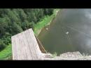 Прыжок с 80 метров. Река Ай