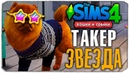 ТАКЕР - ЗВЕЗДА СИМСТАГРАМА? - The Sims 4 Кошки и Собаки