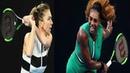 Serena Williams vs Simona Halep / Australian Open 2019 /  Серена Уильямс против Симоны Халеп