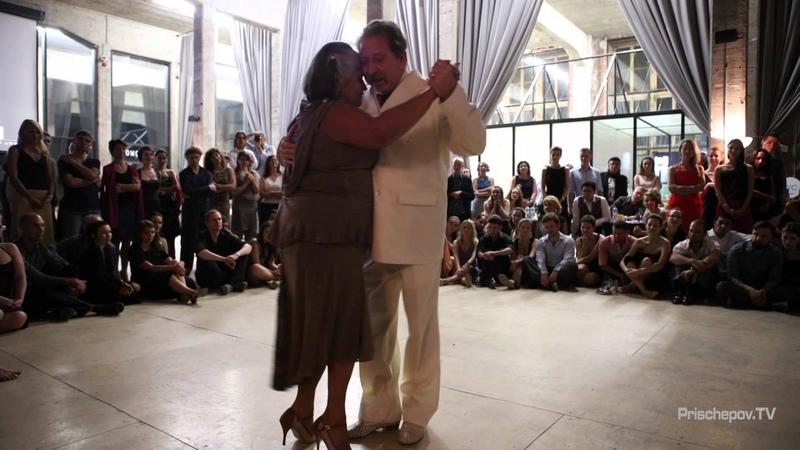 Jorge Daniel Dispari and Maria Carmen la Turca, 7, «Milonguero Nights 2015»,