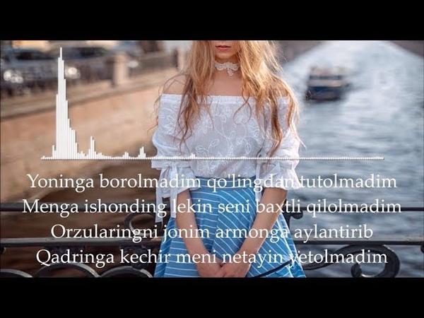 Utkirbek Jumayev - Ayibdor |Lyrics|, Qo'shiq Matni Bilan