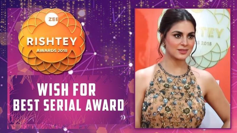 Shraddha Arya Aka Dr. Preeta Wish For Best Jodi Award At Zee Rishtey Awards 2018