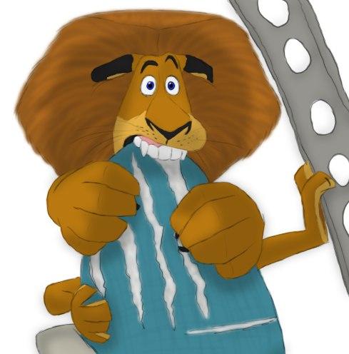 Арты с героями мультфильма Мадагаскар